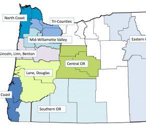 Oregon's 9 PDO regions