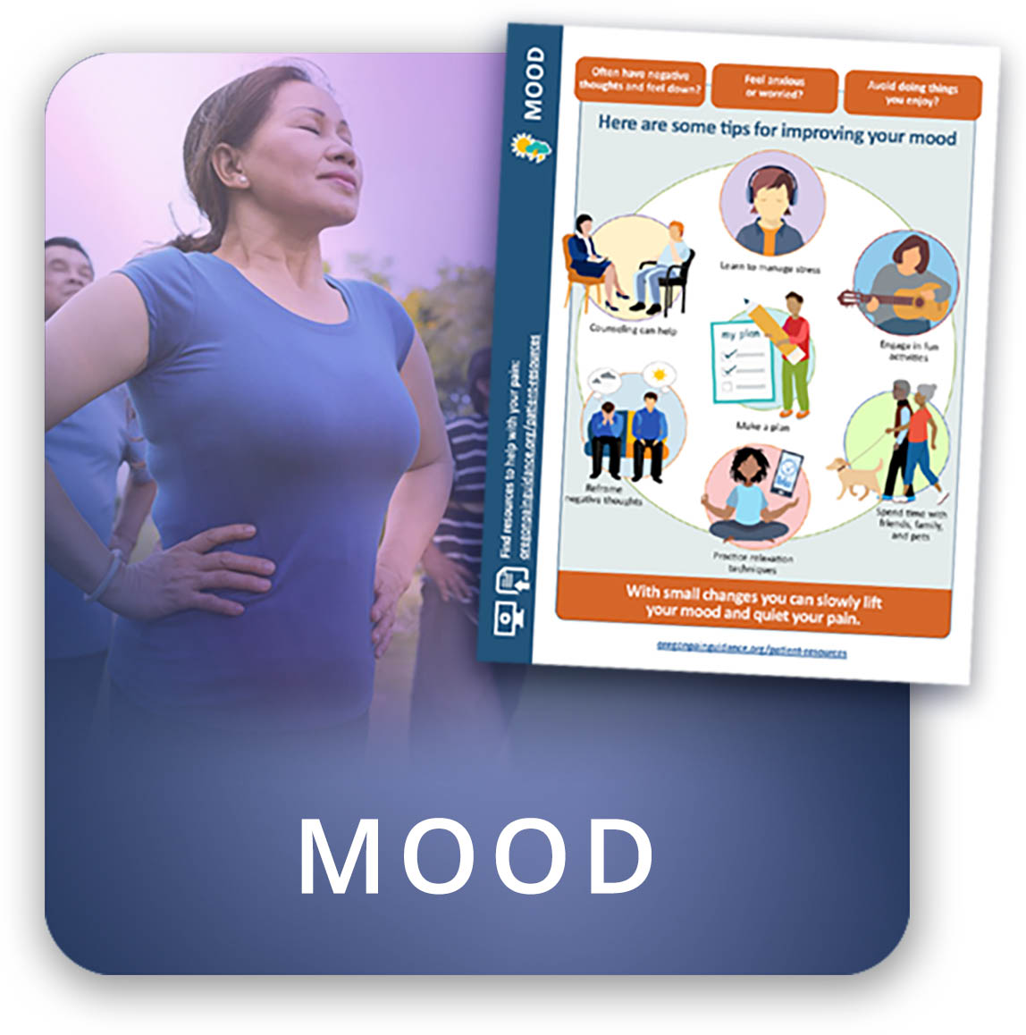 Understand the role that mood plays in your pain