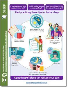 Peer support: Sleep handout