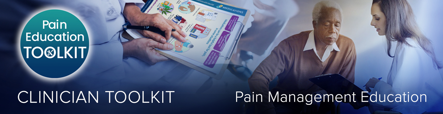 Pain Management Toolkit for Clinicians